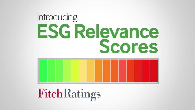 Fitch Ratings Launches ESG Relevance Scores